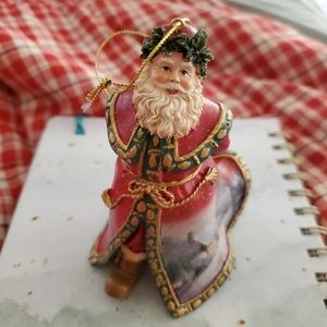 Bag of Toys Santa Ornament